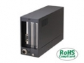 PCI Express Expansion Chassis Short size, 2-Slots, BLACK     [ JP-Model : ECH-PE-CE-H2B ]
