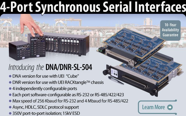 4-Port Synchronous Serial Interface